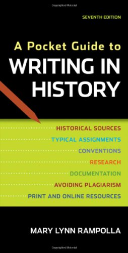 9780312610418: A Pocket Guide to Writing in History
