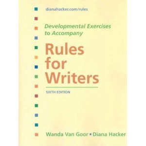 9780312612634: Rules for Writers: City College of San Francisco Edition [Sixth 6th Edition]