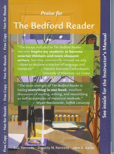 The Brief Bedford Reader, 11th Edition: X. J. Kennedy, Dorothy M. Kennedy, and Jane E. Aaron