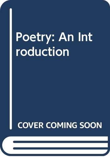 9780312618049: Poetry: An Introduction