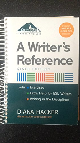 9780312620875: A Writer's Reference (Green River Community College)