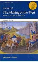 9780312621100: Making of the West Concise 3e V1 & Sources of The Making of the West 3e V1