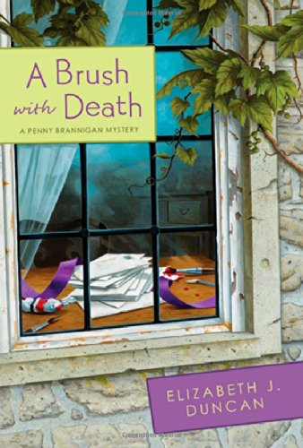 9780312622824: A Brush with Death: A Penny Brannigan Mystery