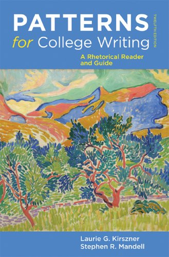 9780312623074: Patterns for College Writing: A Rhetorical Reader and Guide