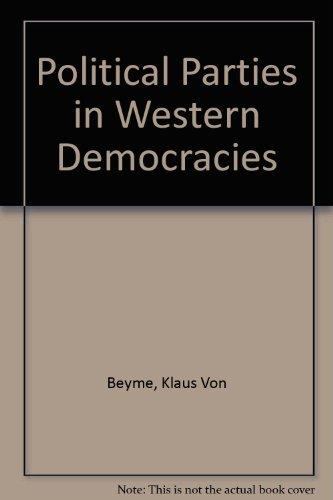 9780312623753: Political Parties in Western Democracies