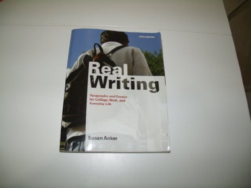 9780312627263: Real Writing With Readings: Paragraphs and Essays for College, Work, and Everyday Life