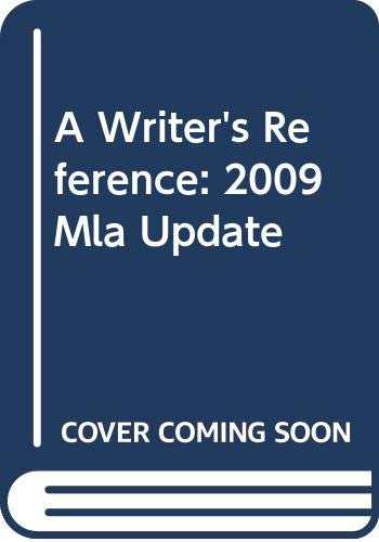 9780312627485: Writer's Reference 6e with 2009 MLA Update & MLA Quick Reference Card