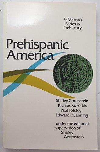 9780312636302: Prehispanic America