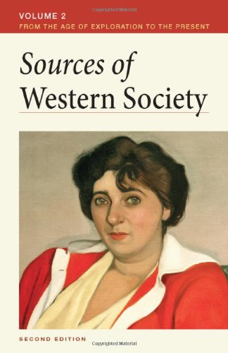 9780312640804: 2: Sources of Western Society, Volume II: From the Age of Exploration to the Present