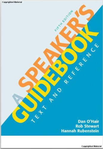 9780312642884: A Speaker's Guidebook: Text and Reference [Fifth Edition]