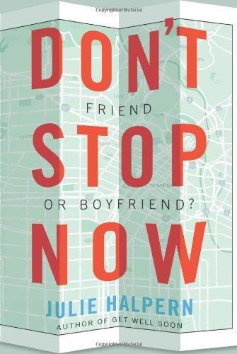 Don't Stop Now: Halpern, Julie