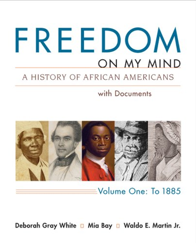 9780312648831: Freedom on My Mind: A History of African Americans with Documents, Vol. 1: To 1885