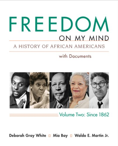 9780312648848: Freedom on My Mind: A History of African Americans with Documents, Vol. 2: Since 1865