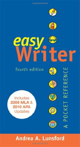 9780312650315: EasyWriter with 2009 MLA and 2010 APA Updates: A Pocket Reference
