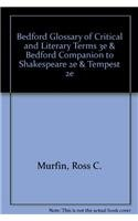 Bedford Glossary of Critical and Literary Terms 3e & Bedford Companion to Shakespeare 2e & Tempest 2e (0312650558) by Murfin, Ross C.; Ray, Supryia M.; McDonald, Russ; Shakespeare, William