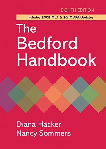 9780312652692: The Bedford Handbook with 2009 MLA and 2010 APA Updates, Eighth Edition