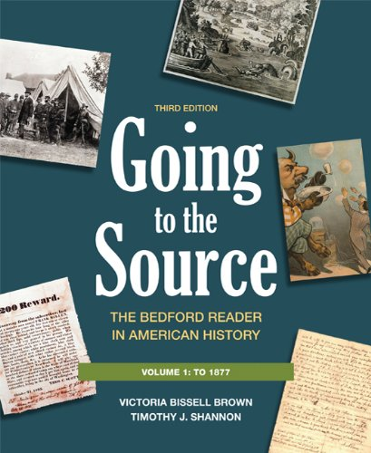 9780312652784: Going to the Source : The Bedford Reader in American History