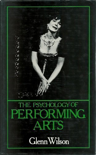 9780312653163: The Psychology of Performing Arts