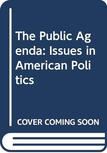 9780312653941: The Public Agenda: Issues in American Politics