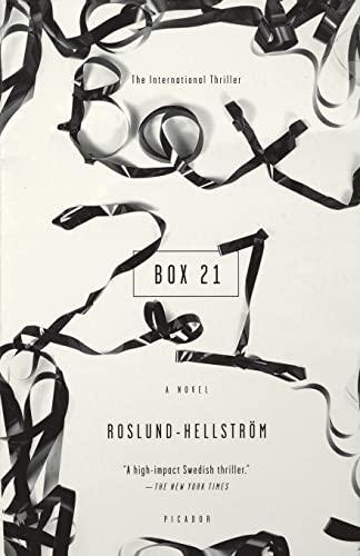 Box 21: A Novel: Anders Roslund