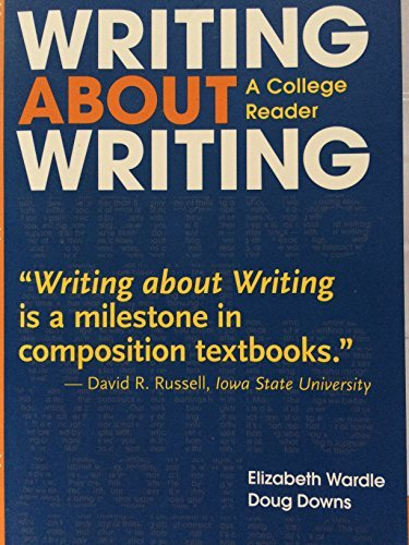 9780312656812: WRITING ABOUT WRITING >INSTRS.