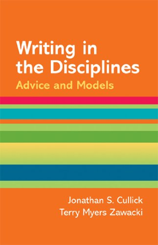 Writing in the Disciplines: A Hacker Handbooks: Diana Hacker