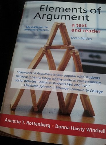 ELEMENTS OF ARGUMENT >INSTRS.E: Rottenberg, Annette T./ Winchell, Donna Haisty