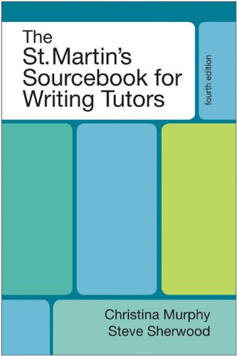 9780312661915: The St. Martin's Sourcebook for Writing Tutors
