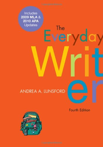 9780312664848: The Everyday Writer with 2009 MLA and 2010 APA Updates