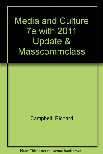 9780312667849: Media and Culture 7e with 2011 Update & Masscommclass