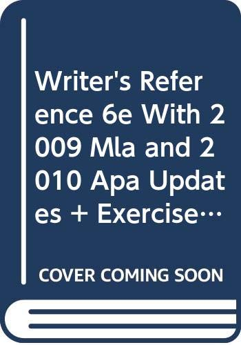 9780312673093: A Writer's Reference [With Workbook]