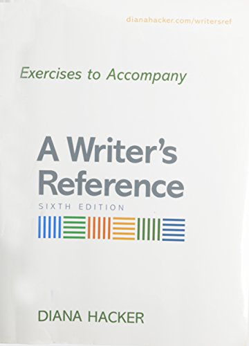 9780312673109: Writer's Reference 6e with 2009 MLA and 2010 APA Updates & Exercises Large Format