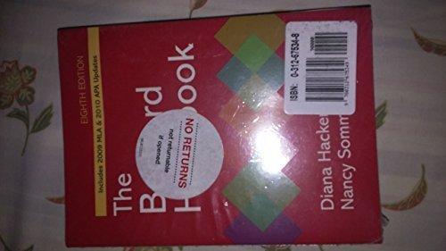 9780312675349: Bedford Handbook 8e, eBook, & Rewriting Access Card