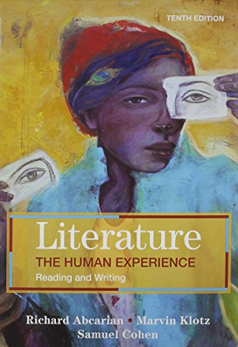 9780312675646: Literature: The Human Experience 10e & EasyWriter with 2009 MLA and 2010 APA Updates