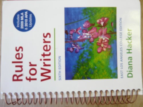 9780312676179: Rules for Writers East Los Angleles Edition