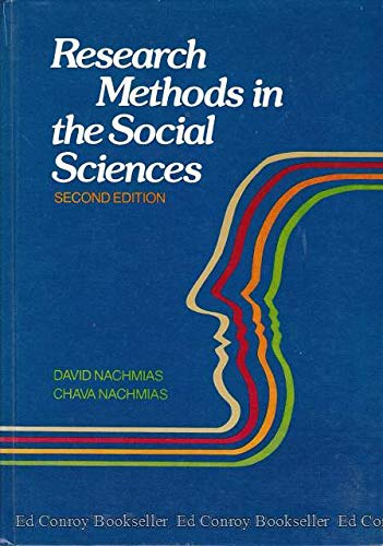 9780312676216: Research methods in the social sciences