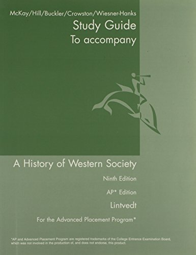 9780312683238: AP Study Guide for A History of Western Society Since 1300