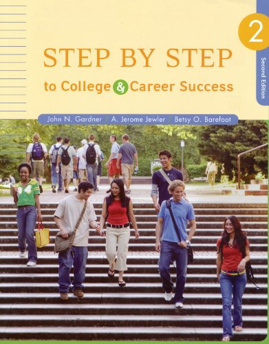 9780312683474: Step by Step to College and Career Success