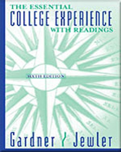 9780312683498: The Essential College Experience with Readings