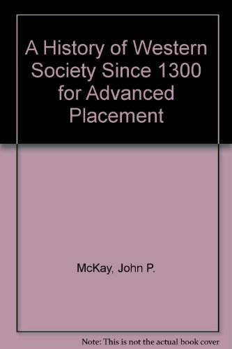 9780312683702: A History of Western Society Since 1300 for Advanced Placement