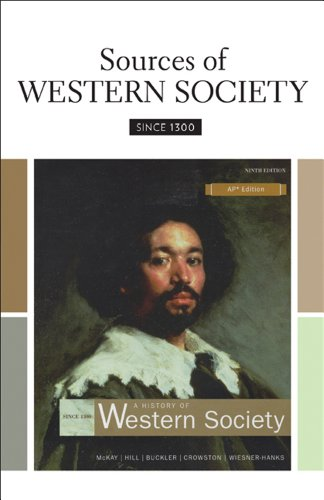 9780312688981: Sources of Western Society Since 1300 for Advanced Placement