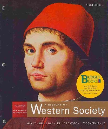 9780312689315: A History of Western Society: From Antiquity to the Enlightenment: 1