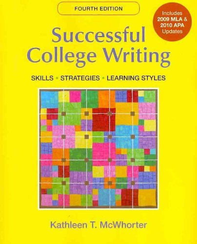 9780312697570: Successful College Writing with 2009 MLA and 2010 APA Updates & Research Pack