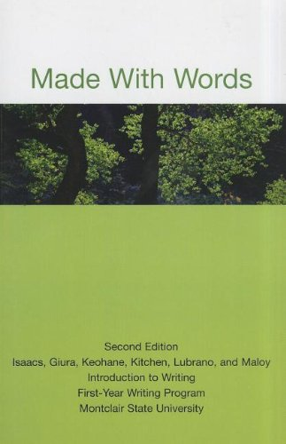 Made with Words: Introduction to Writing First-Year: n/a