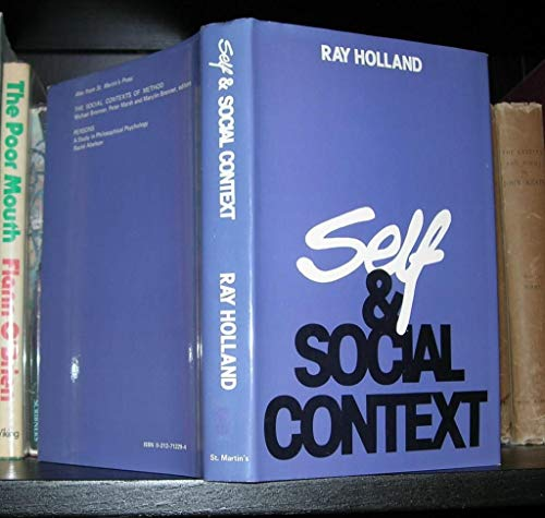9780312712297: Self and Social Context