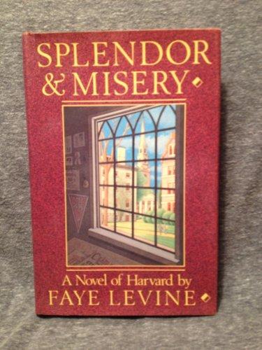 Splendor and Misery: A Novel of Harvard: Levine, Faye