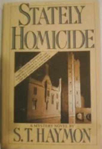 9780312757083: Stately Homicide (Detective Inspector Ben Jurnet)