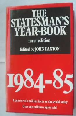The Statesman's Year-Book: Paxton, John