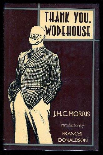 9780312794941: Thank You, Wodehouse