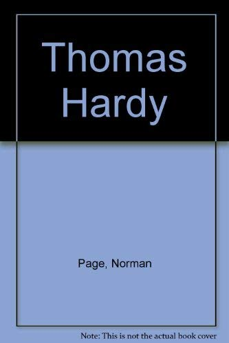 9780312801328: Thomas Hardy